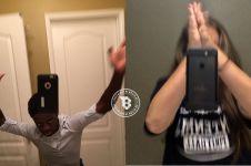 10 Potret korban tren highfive selfie ini lucu-lucu, kamu ikutan ya?