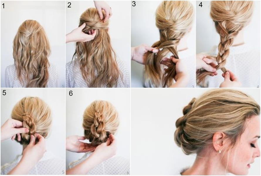 Style Sanggul Rambut Kece Ini Simpel Dan Mudah Kamu Tiru - Gaya rambut pendek yg elegan