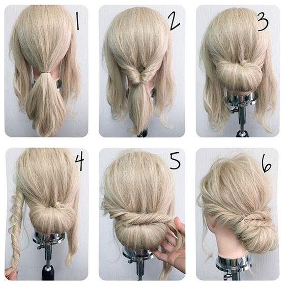 10 Style Sanggul Rambut Kece Ini Simpel Dan Mudah Kamu Tiru