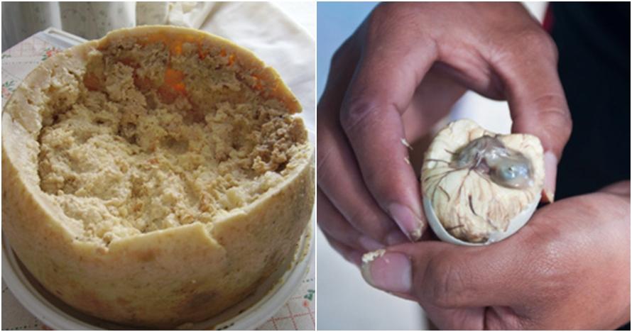10 Makanan teraneh dari berbagai belahan dunia, nomor 8 tak masuk akal