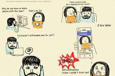 14 Ilustrasi problem asmara ABG sekarang, kamu pasti pernah ngalamin