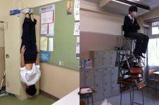 14 Tingkah konyol siswa Jepang di sekolah, buset deh