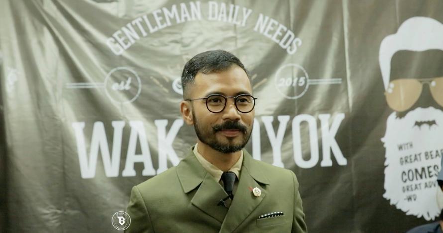 Kisah sukses Wak Doyok, ikon fashion pria yang makin mendunia
