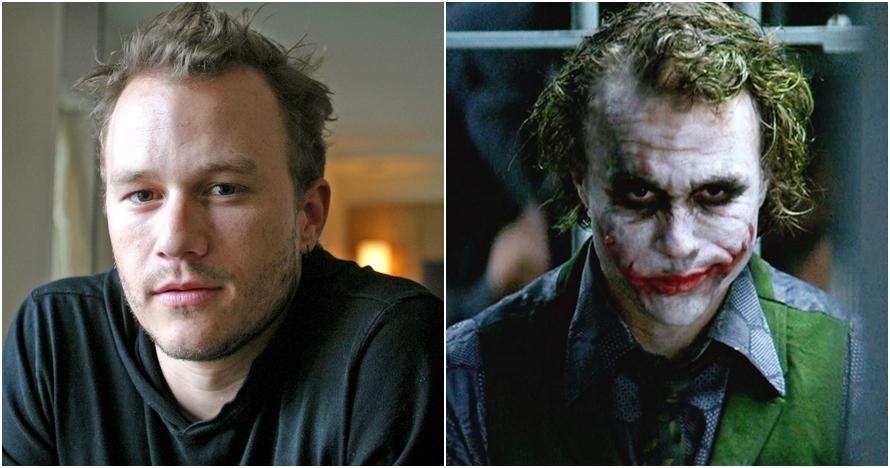 10 Fakta Heath Ledger pemain 'Joker' terbaik, hidupnya berakhir tragis