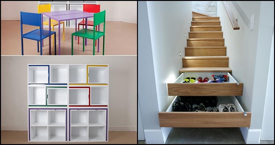 12 Perabot multifungsi ini bikin rumahmu tambah luas, kreatif banget