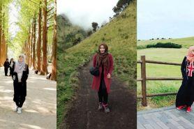 10 OOTD kece untuk kamu para hijab traveler, biar makin hits dong