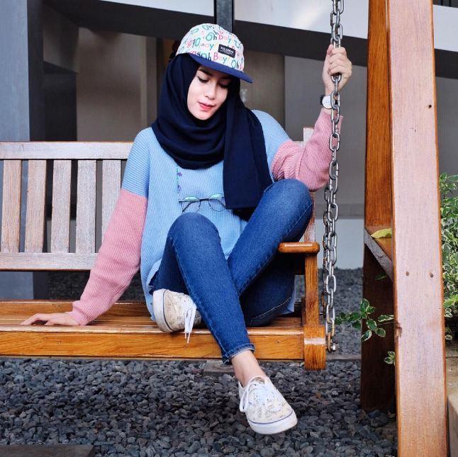 10 Ootd Kece Untuk Kamu Para Hijab Traveler Biar Makin