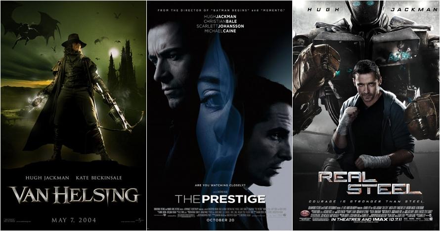 Tak hanya Wolverine, ini 14 film lain yang dibintangi Hugh Jackman