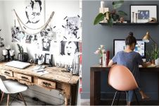 15 Desain ruang kerja di rumah ini kece abis, bikin semangat cari uang