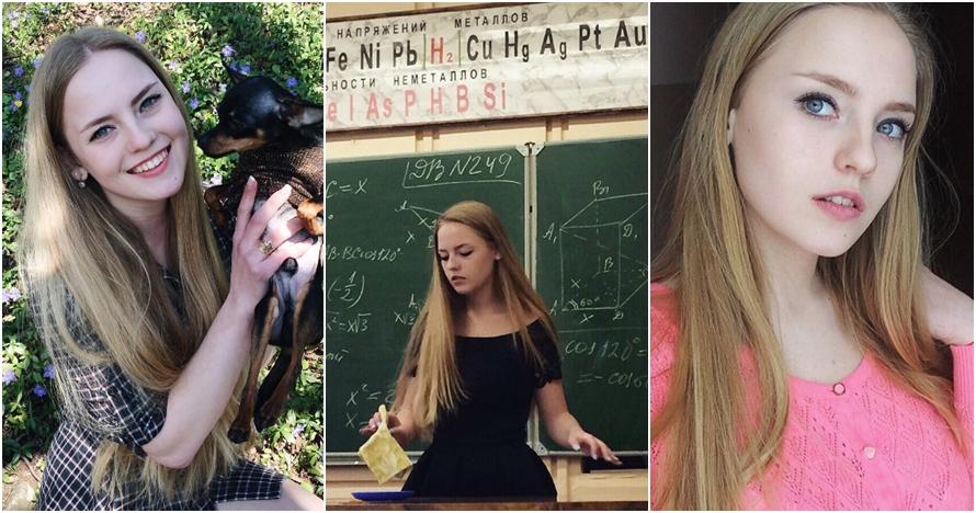 Oksana Neveselaya, guru Matematika yang bikin semangat ngapalin rumus