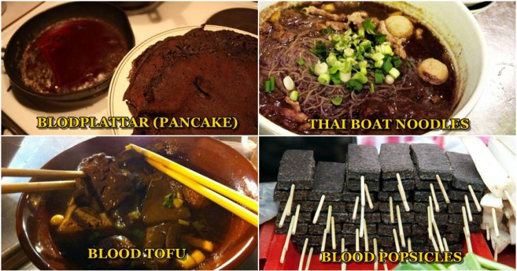Bikin Mual 13 Makanan Ini Terbuat Dari Darah Hewan