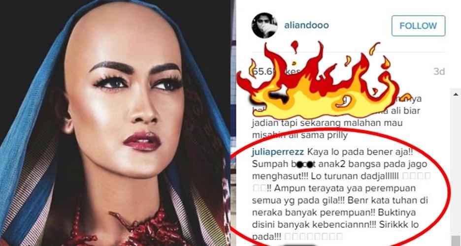 5 Alasan kenapa Julia Perez kerap dijuluki 'polisi tuyul' di Instagram