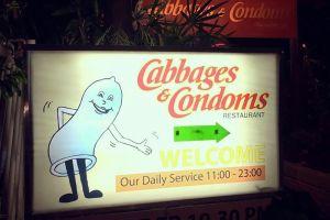 Unik, restoran ini berkonsep kondom, kamu mau nyoba sensasinya?