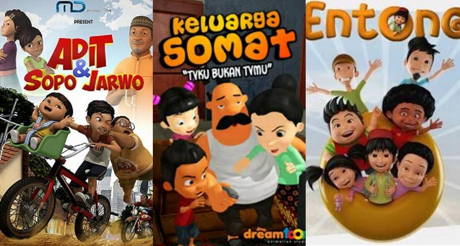 Nggak Melulu Jepang 8 Serial Kartun Keren Buatan Indonesia Gambar