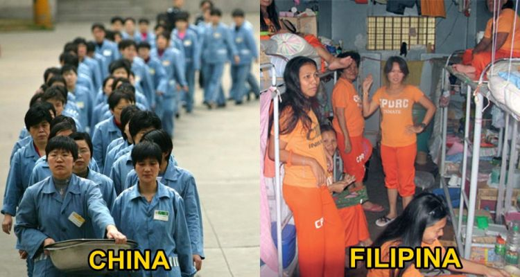 10 Foto tunjukkan kondisi penjara wanita dari seluruh dunia