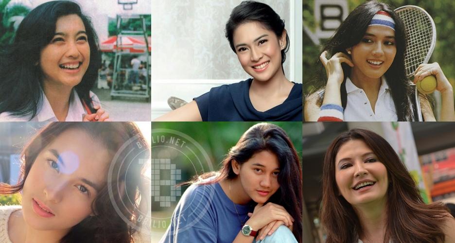 10 Legenda kecantikan Indonesia dari masa ke masa, idolamu yang mana?