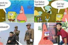 15 Komik Spongebob & Pattrick cari Squidward ini kocaknya kebangetan