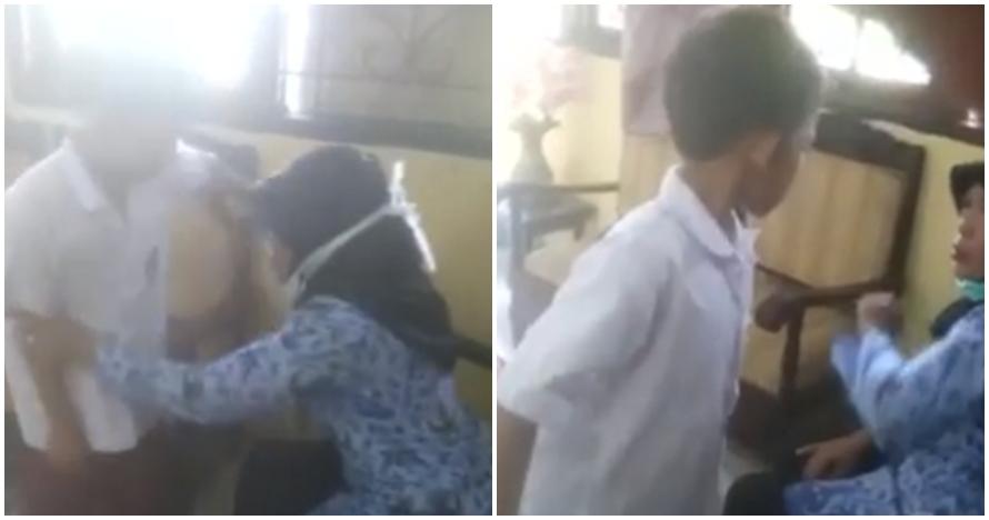 Anak SD ini berani melawan hingga umpat monyet pada guru, duh miris