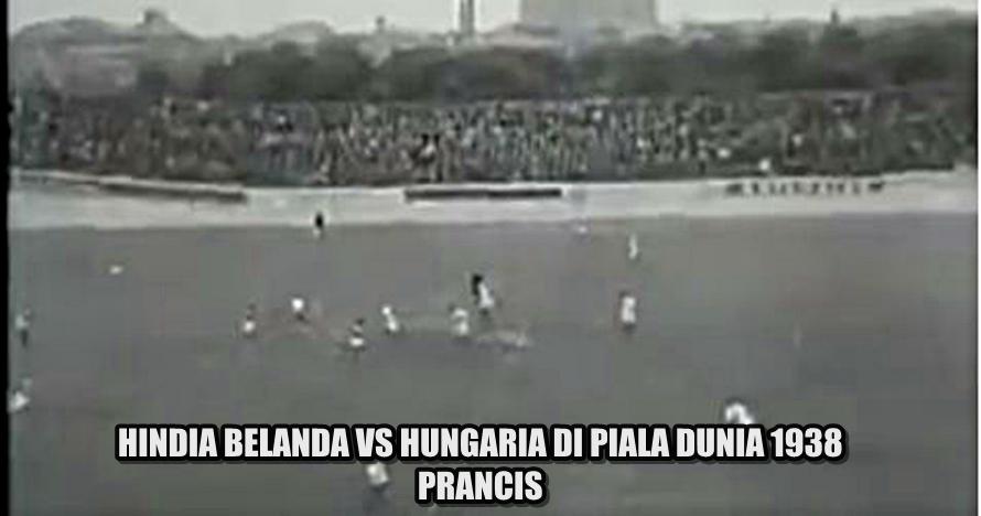 Ini video langka cuplikan pertandingan Indonesia di Piala Dunia 1938