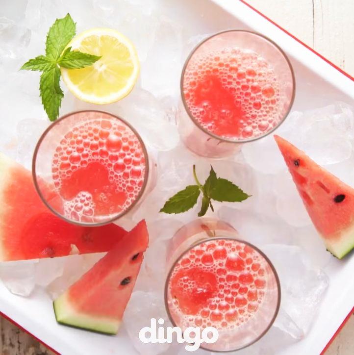 Resep soda lemon semangka © 2016 dingo ID