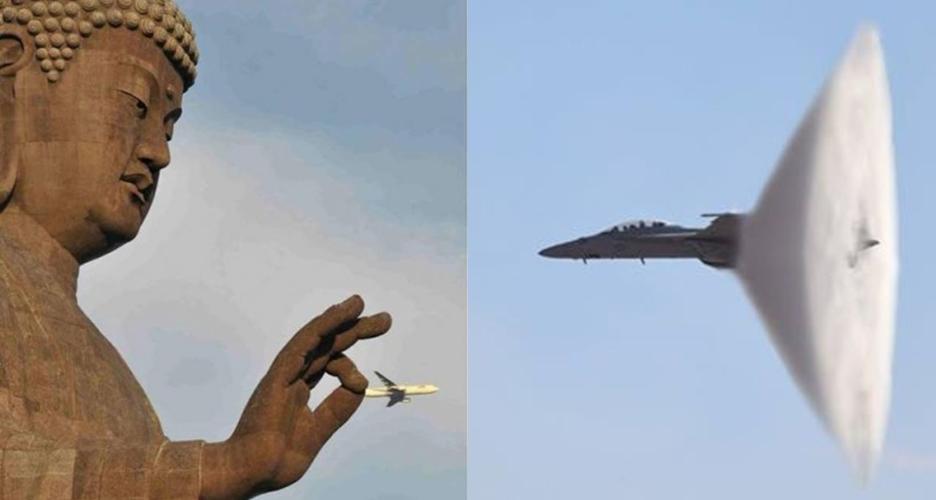 10 Foto pesawat ini bikin kamu bertanya-tanya 'asli atau editan ya?'