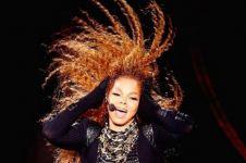 Tak lagi tampil seksi, penyanyi Janet Jackson anggun berbaju muslimah