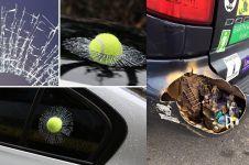17 Aksi kreatif modifikasi mobil, bikin tambah unik