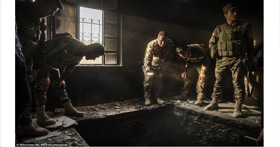 Ngeri, ini penampakan isi rumah salah satu pejuang ISIS