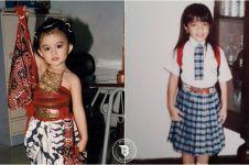 10 Foto masa kecil seleb ini buktikan mereka memang cantik sedari dulu
