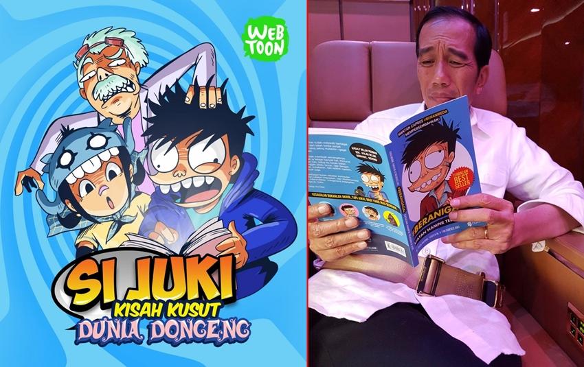 20 Cerita paling menarik 'Si Juki', Jokowi aja suka lho
