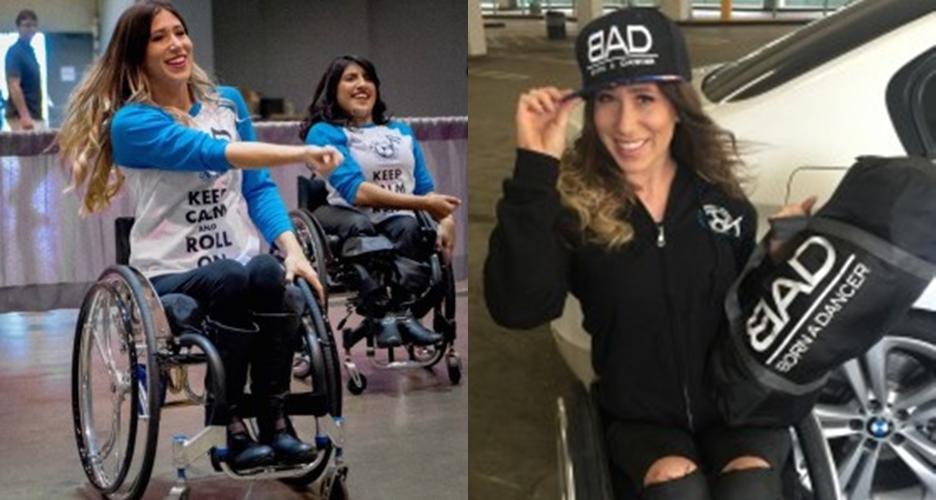 Wanita ini tetap bisa jadi penari meski harus berada di kursi roda
