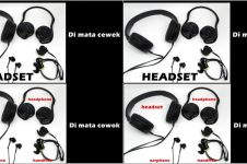 Ini bedanya headset, handsfree, earphone dan headphone
