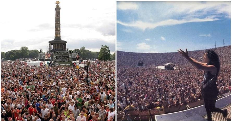 10 Konser dengan penonton paling ramai, ada yang 2,5 juta orang lho