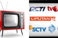 9 Perubahan logo televisi Indonesia ini sadarkan kamu kalau sudah tua