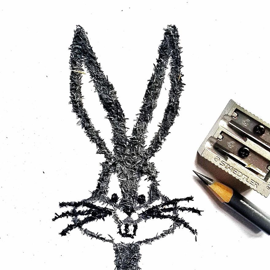 seni serutan pensil © 2016 brilio.net
