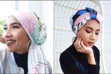 10 Gaya hijab retro ala Yuna penyanyi Malaysia, unik dan inspiratif
