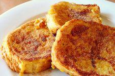 French Toast, roti panggang Prancis yang mudah dibikin buat sarapan