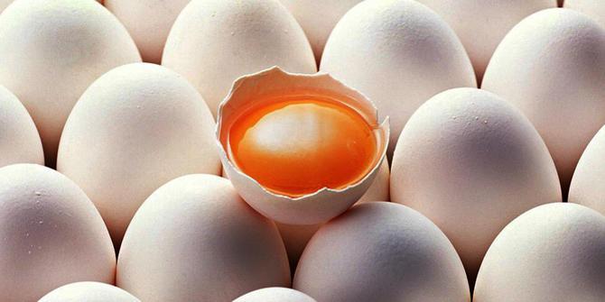 Telur Ayam Kampung © 2016 brilio.net