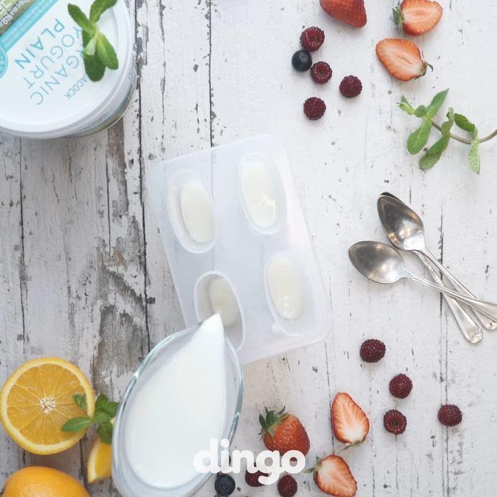 Resep es lilin yogurt © 2016 dingo ID
