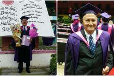 Pria ini baru dapat gelar sarjana di usia 69, kisahnya bikin mewek