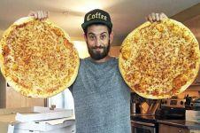Pria Kanada ini meracik pizza jadi meja pingpong, menakjubkan