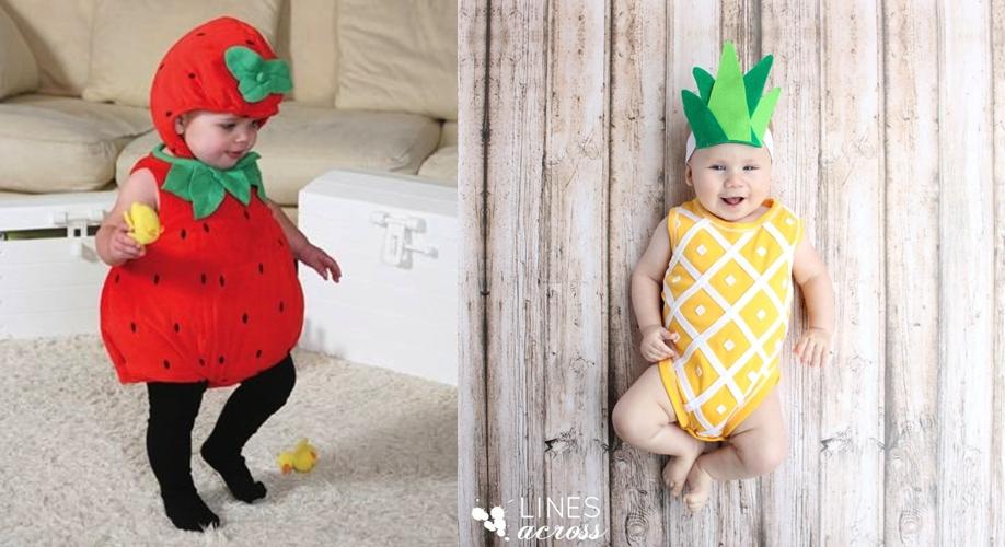 14 Foto bayi berkostum buah ini ngegemesin banget, pengen nyubit
