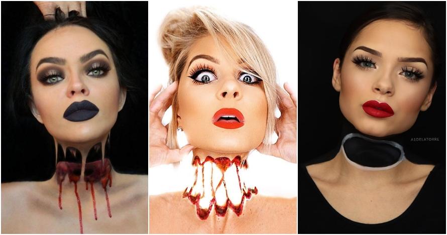 Ini dia tren makeup 'kepala mengambang' yang viral di media sosial