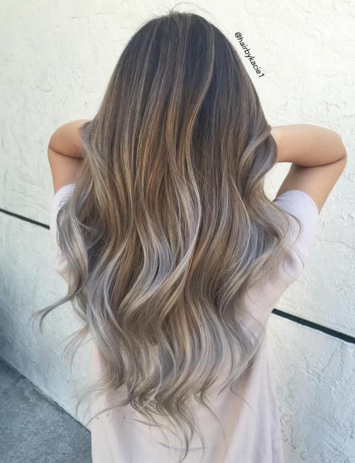 Gaya rambut Balayage © 2016 berbagai sumber