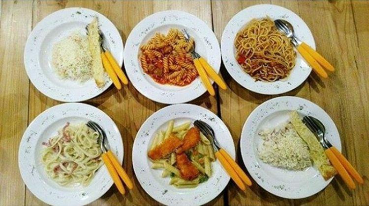 Olahan pasta ala Italia ini dimodifikasi sesuai lidah orang Indonesia