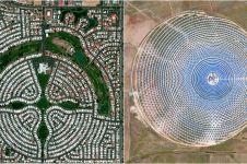 15 Penampakan bumi yang dipotret dengan kamera satelit ini bikin kagum