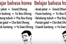 10 Meme Bahasa Korea ala Jawa ini dijamin bikin perut kamu mules