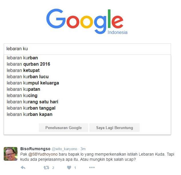 15 Meme Lebaran Kuda ala SBY yang langsung hebohkan jagat maya