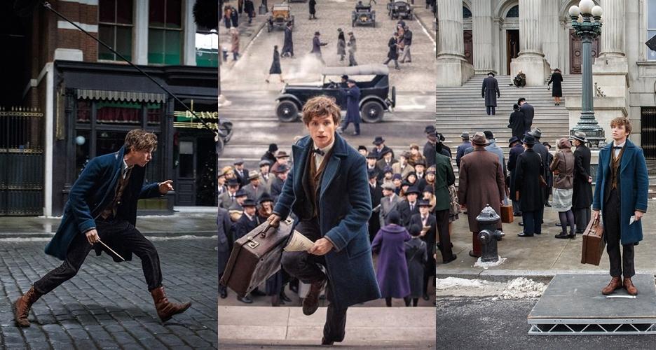 10 Foto behind the scene Fantastic Beasts, film prekuel Harry Potter