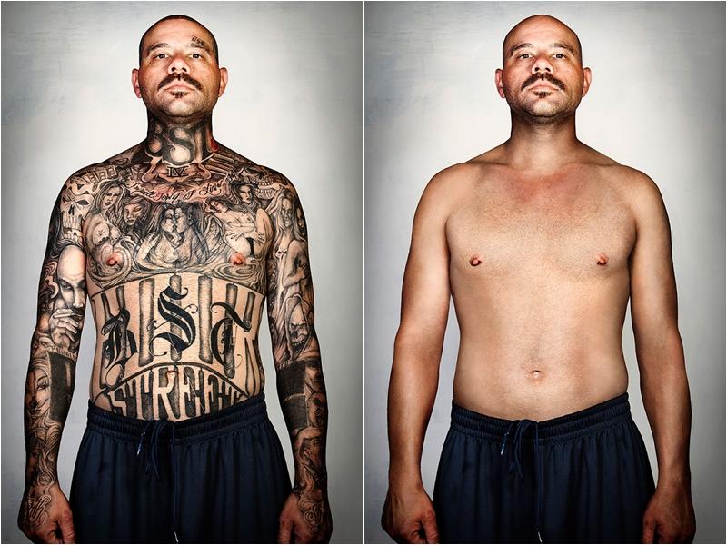 Mantan mafia tatonya dihapus © 2016 boredpanda.com